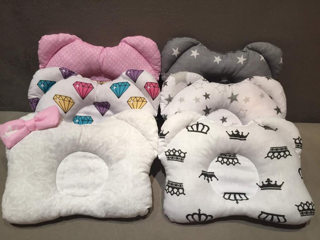 подушка для новорожденного виды
