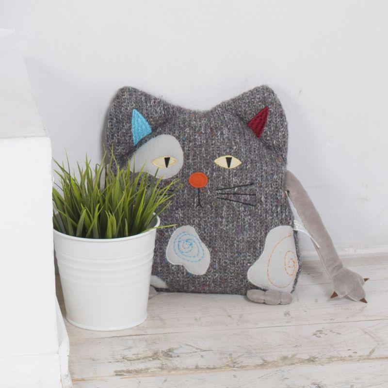 подушка кот дизайн идеи