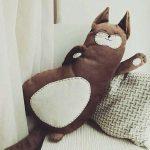 подушка кот идеи декор