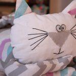 подушка кот мечтатель