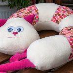 подушка кот оформление фото