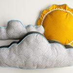 подушка облако декор фото