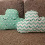 подушка облако дизайн фото