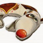 подушка собака декор