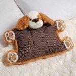 подушка собака дизайн
