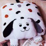 подушка собака фото декор