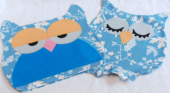 подушка сова наволочки