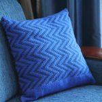 подушка вязаная идеи дизайн