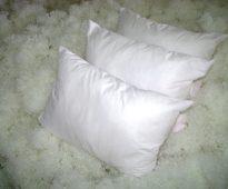 подушки холлофайбер