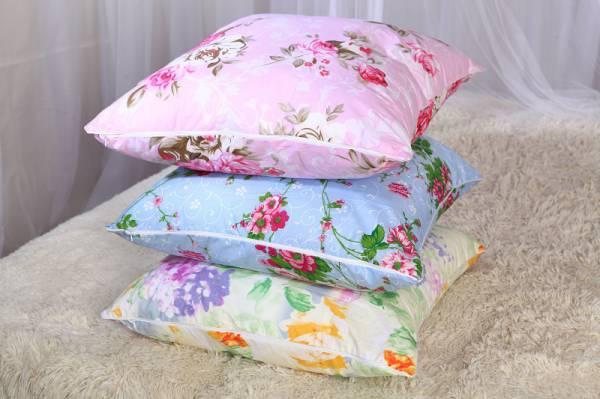 подушки из лебяжьего пуха