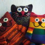 подушка кот своими руками