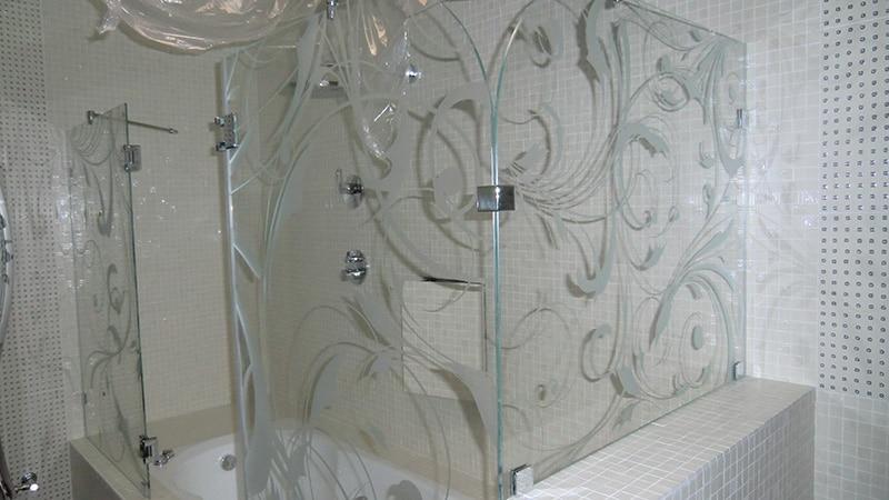шторки в ванную комнату фото