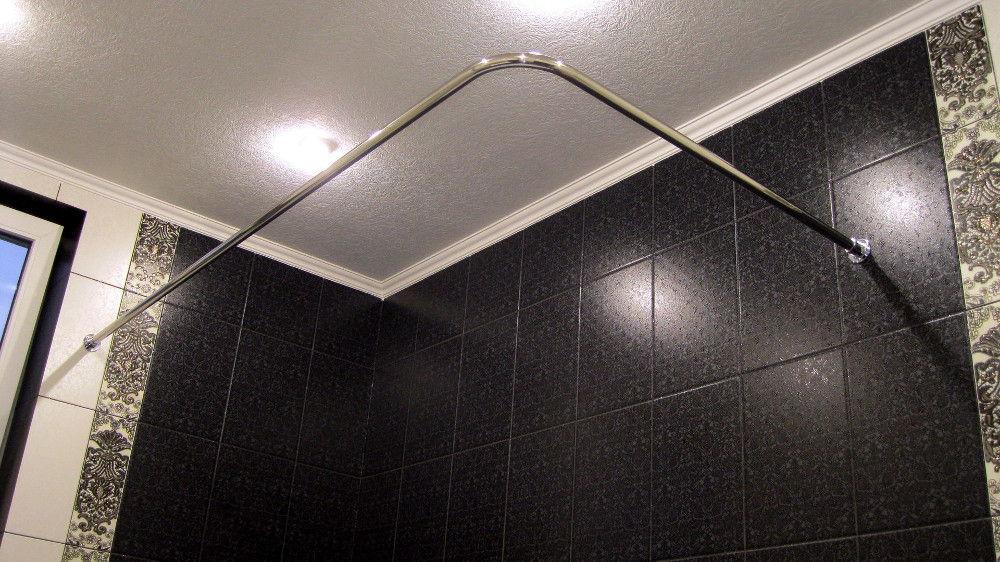 штанга в ванной
