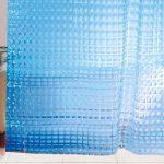 текстильные шторы для ванной интерьер фото