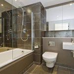 текстильные шторы для ванной варианты фото