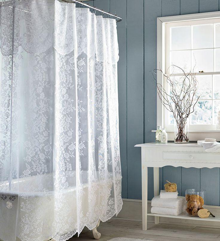 шторы для угловой ванны фото декора