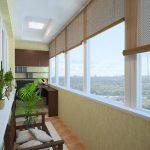 шторы на балкон фото интерьера