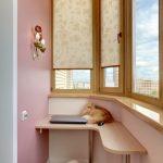 шторы на балкон фото варианты