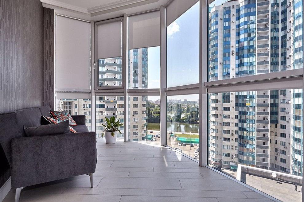 шторы на балкон идеи обзор