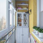 шторы на балкон варианты