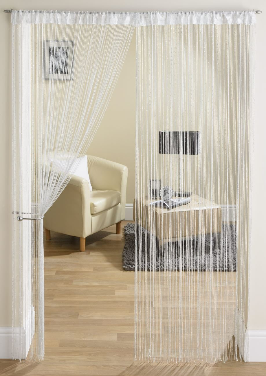 шторы на дверной проем декор идеи