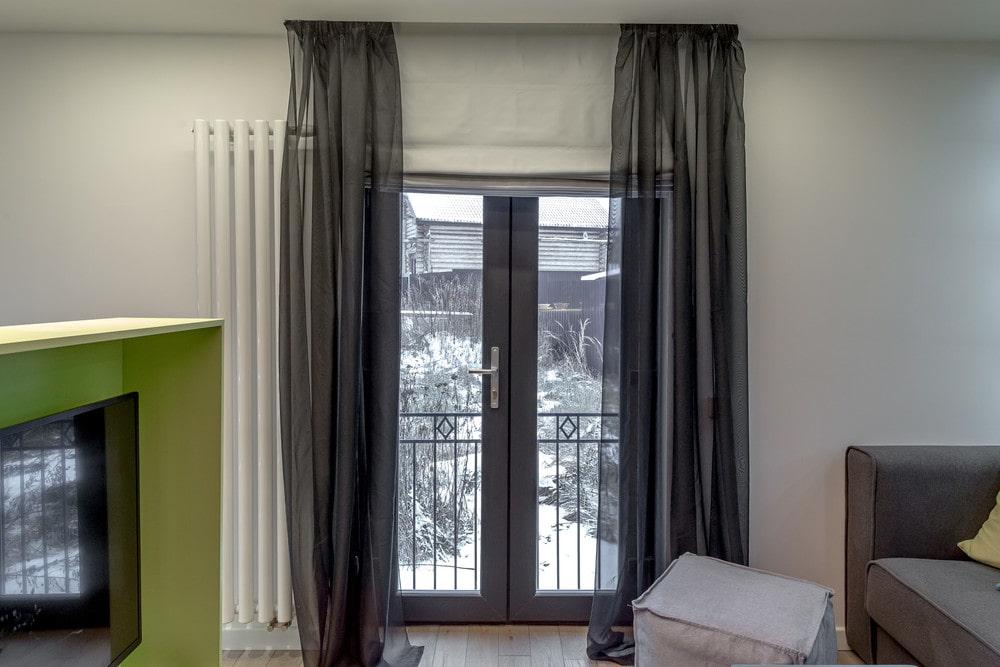 шторы на дверной проем декор виды