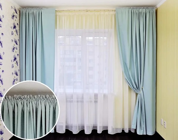 шторы на кулиске идеи дизайн