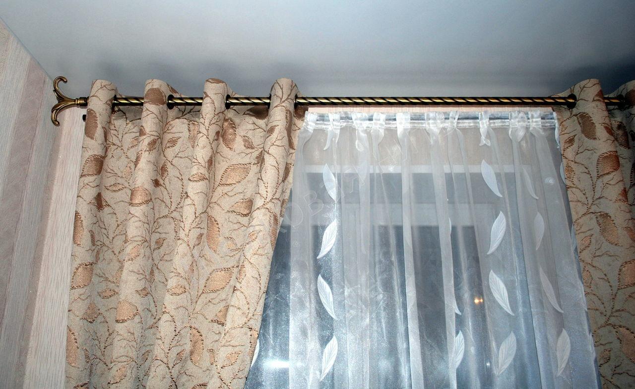 шторы на люверсах