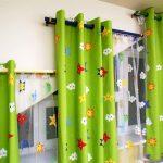 шторы со звездочками декор