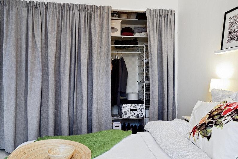 шторы в гардеробной фото дизайн