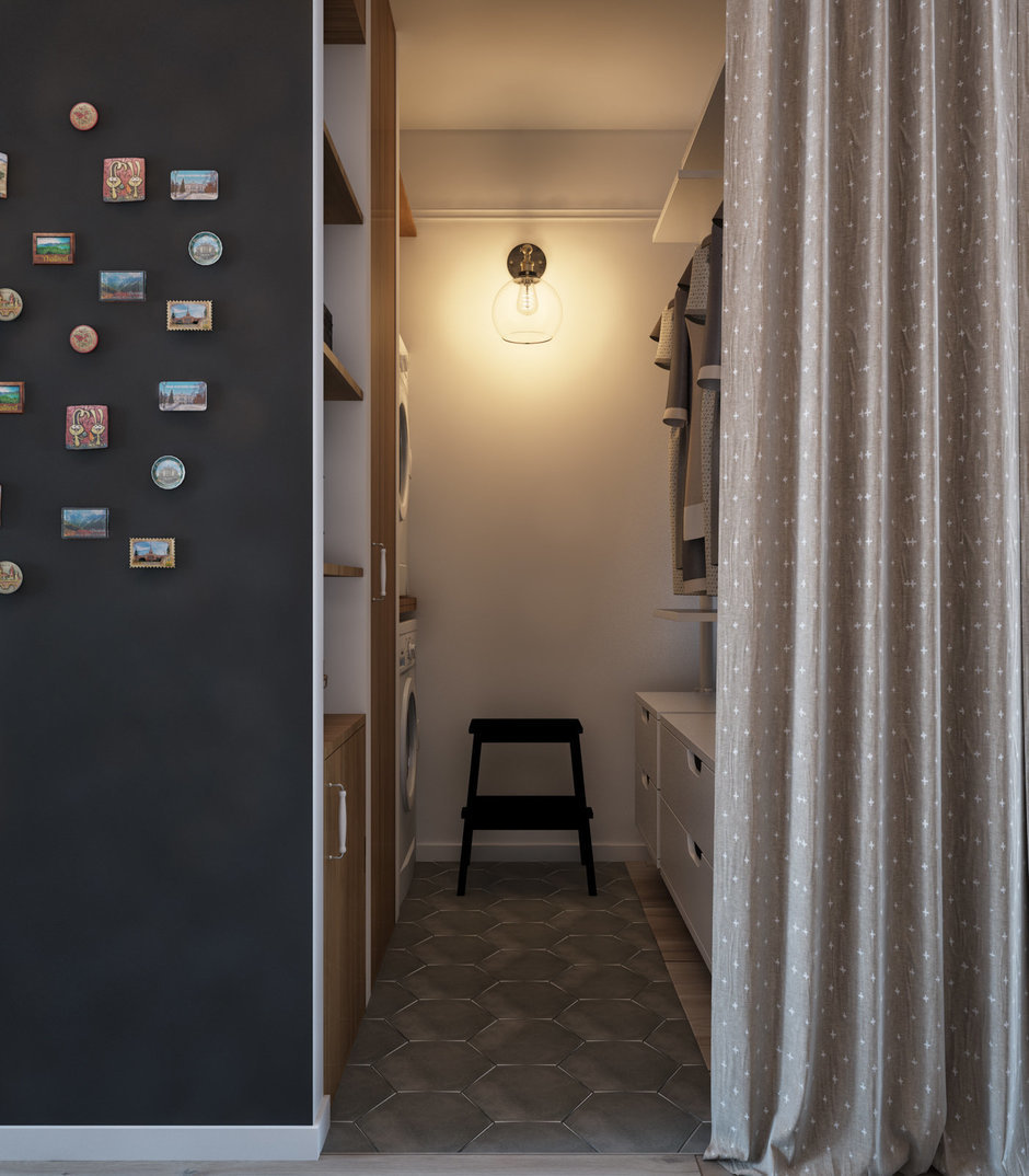 шторы в гардеробную фото