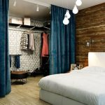 шторы в гардеробную интерьер