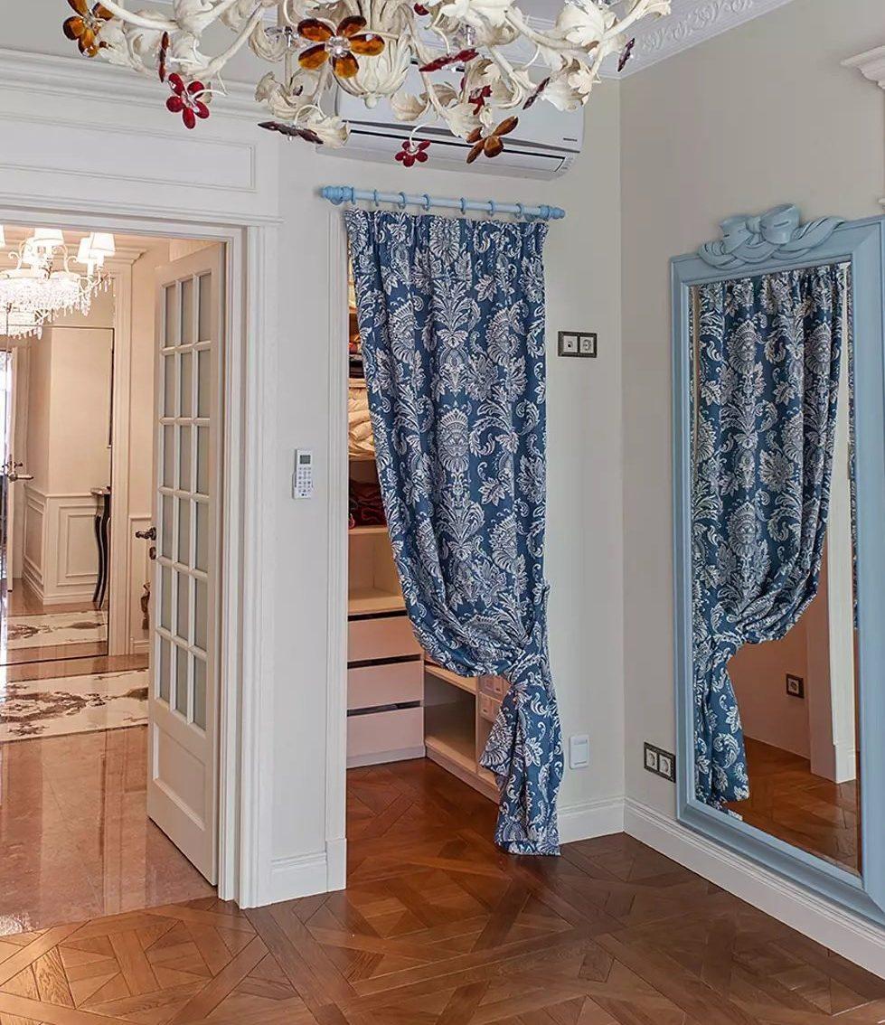 шторы в гардеробной оформление
