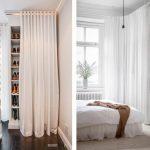 шторы в гардеробную вместо дверей фото варианты