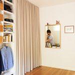 шторы в гардеробную вместо дверей варианты