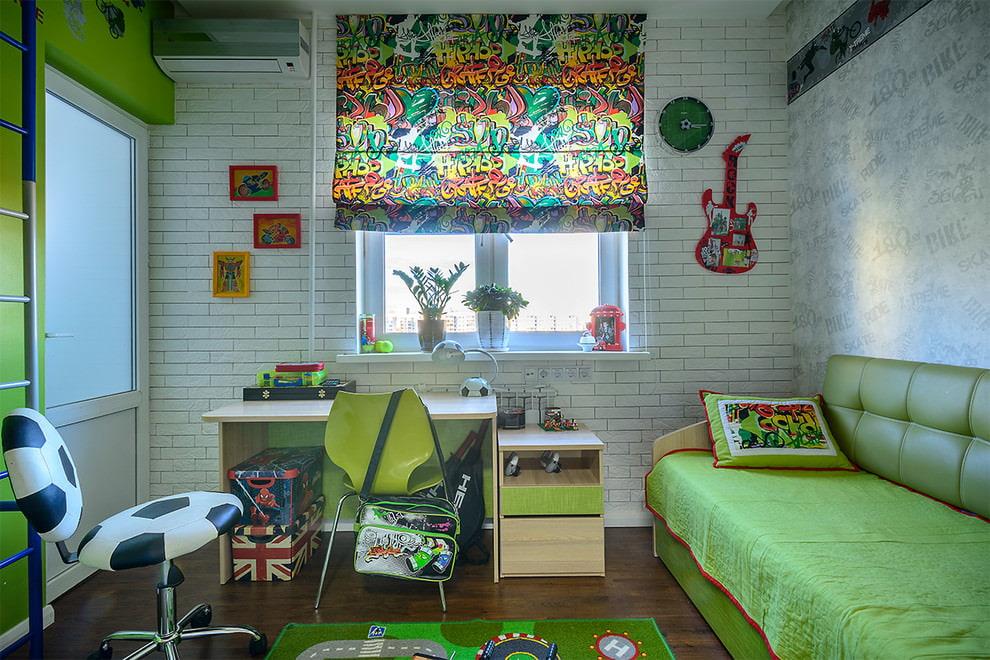 шторы в комнату подростка мальчика идеи варианты