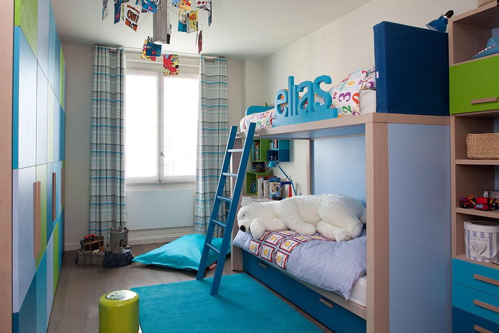 шторы в комнату подростка мальчика оформление фото