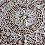 скатерть вязаная крючком фото декор