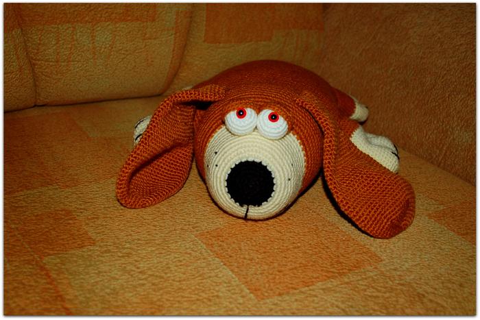 собака подушка связать
