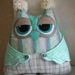сова подушка