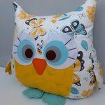 сова подушка дизайн