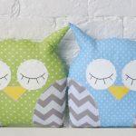 сова подушка дизайн фото