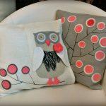 сова подушка виды дизайна