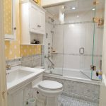 стеклянная шторка для ванной декор идеи