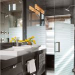 стеклянная шторка для ванной фото дизайна