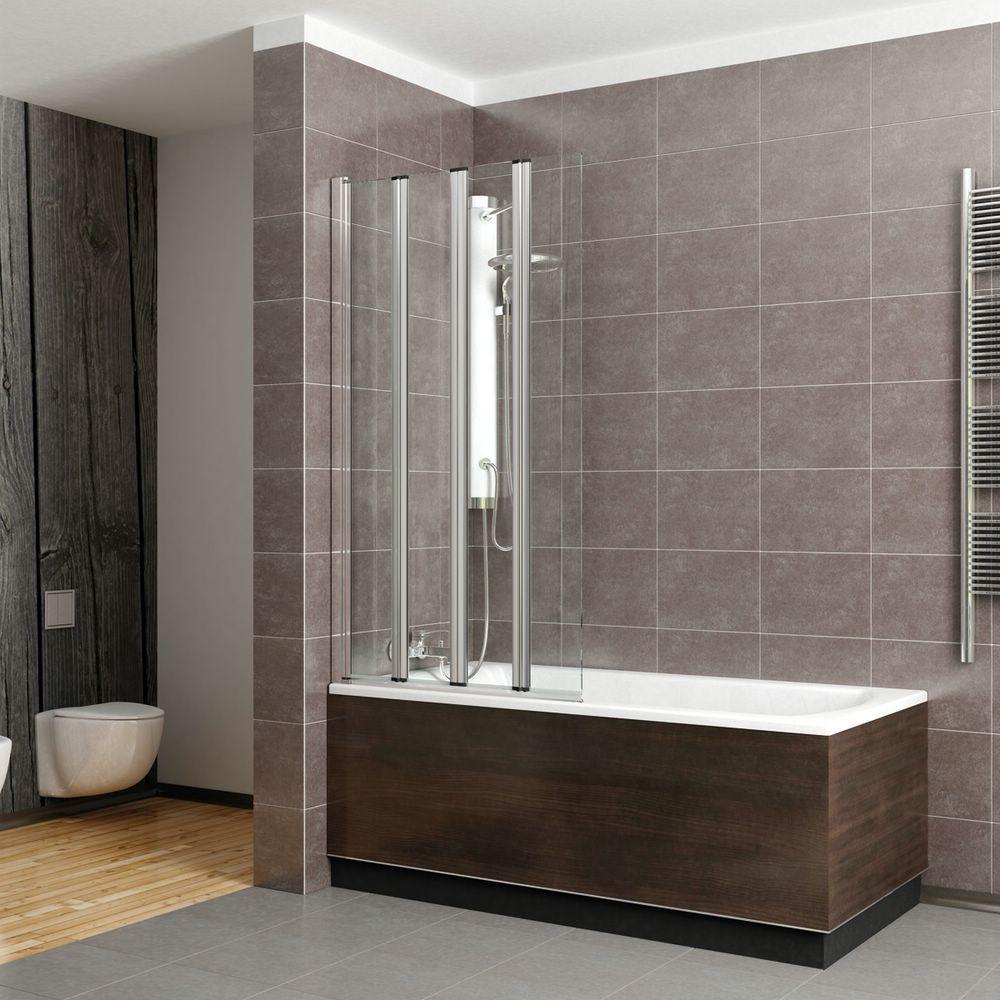 стеклянные угловые шторы для ванной