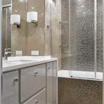 стеклянная шторка для ванной интерьер идеи