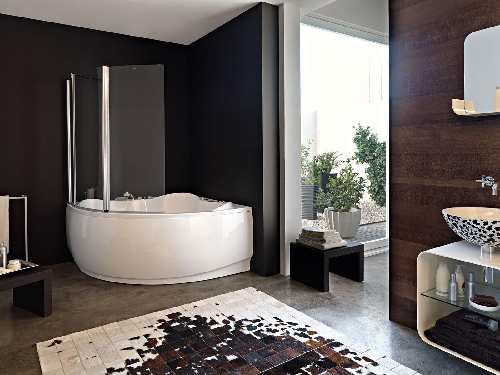 шторка для ванной комнаты идеи декор