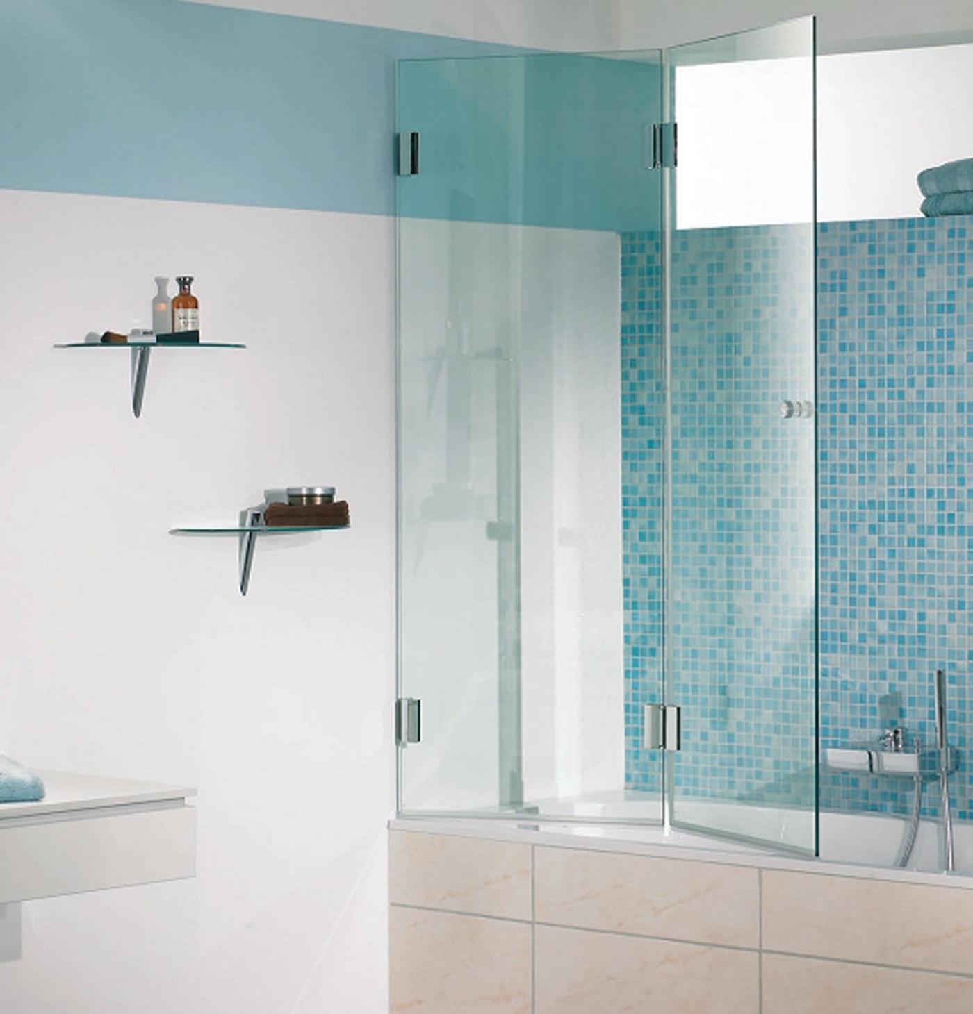 складная шторка для ванной