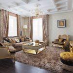 ковры в интерьере стильные